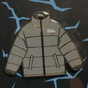 First Down Gray Jacket 2019 ComplexCon Enamel Pin